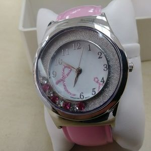 Breast Cancer Awarness women's watch